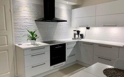 Muutoskohde 25 – Moderni ja käyttäjäystävällinen keittiö