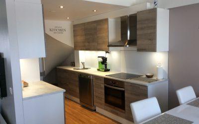 Muutoskohde 3 – Moderni keittiö