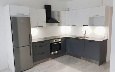 Muutoskohde 12 – Uusi keittiö ja kodin säilytystilat
